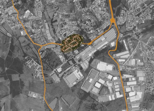 Tabaqueira - aerial view
